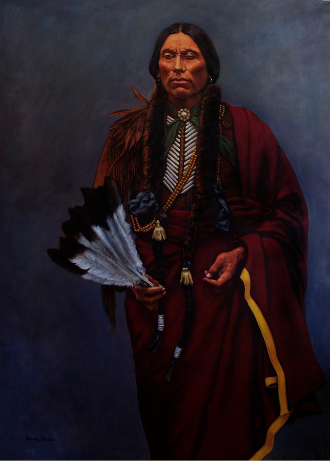 Chief Quanah Parker by Harvie Brown