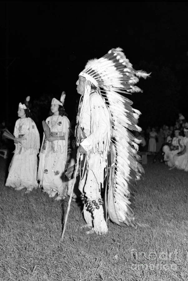 Oklahoma Photograph - Chief  Red Bird by Larry Keahey