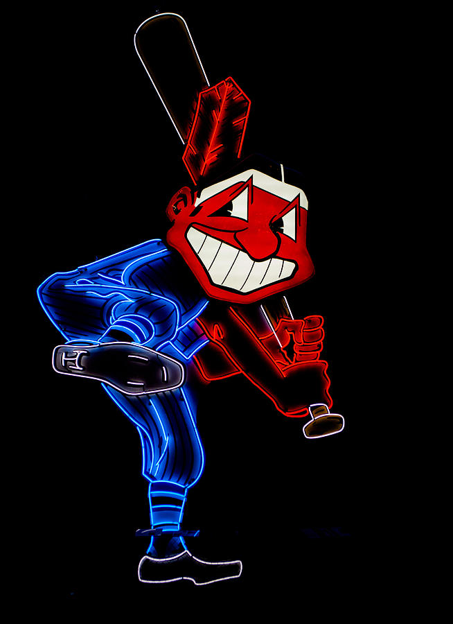 Cleveland Photograph - Chief Wahoo by Stewart Helberg