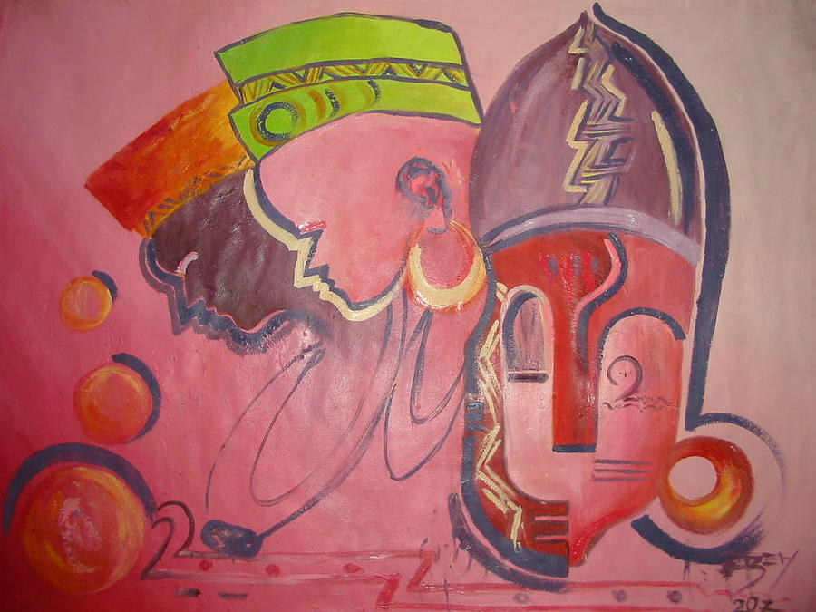 Composition Painting - Chieftaincy Title by Ezeh  Kingsley