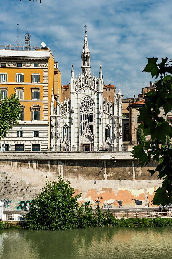 Italia Photograph - Chiesa Del Sacro Cuore Del Suffragio by Joseph Yarbrough