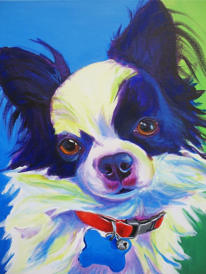 Chihuahua Painting - Chihuahua - Esso-gomez by Alicia VanNoy Call