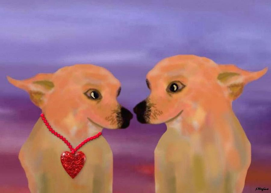 Chihuahua Sunset Digital Art by Sher Magins