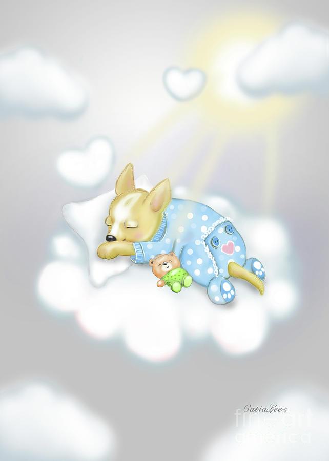 Chihuahua Zoe Baby by Catia Lee