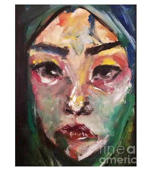 Child Painting - Child by Esmeralda Acupan