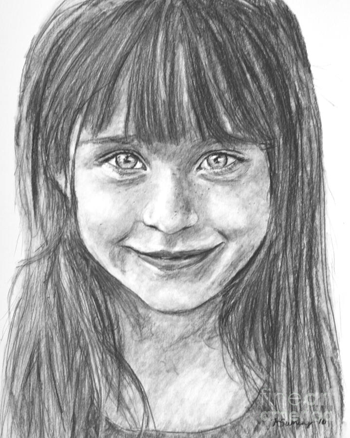 Child in Charcoal by Kate Sumners