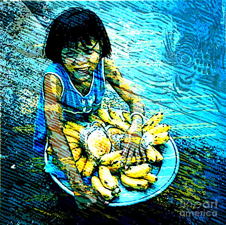 Child Mixed Media - Child Labour Series 1  by Tammera Malicki-Wong