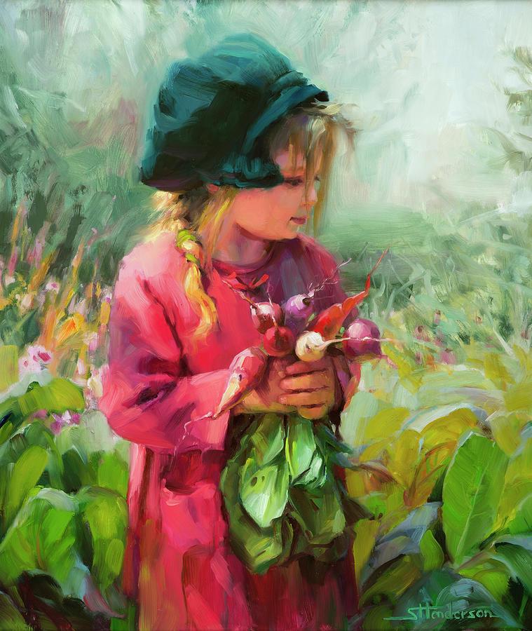 Child Of Eden Painting