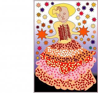 Child Digital Art - Child Star by Shirley Sacks