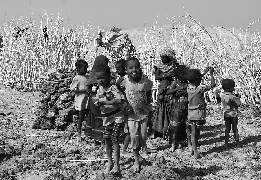 Horn Of Africa Photograph - Childern Of The Danakil, Ethiopia by Aidan Moran