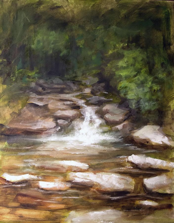 Creek Painting - Cooling Creek by Melissa Herrin