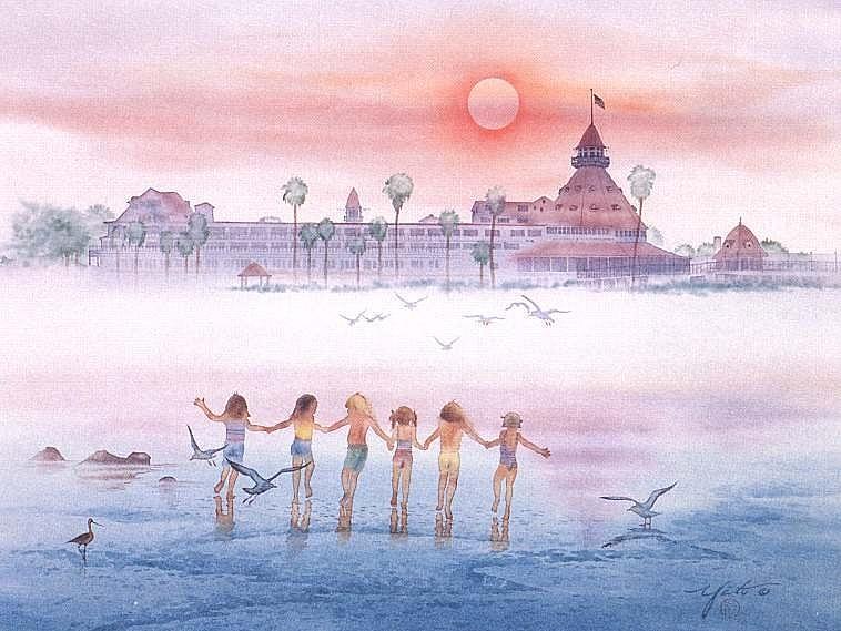 Childhood Memories Painting by John YATO