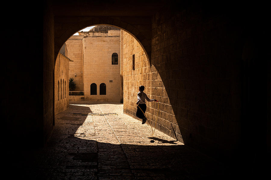 Light Photograph - Childhood Memories by Marji Lang