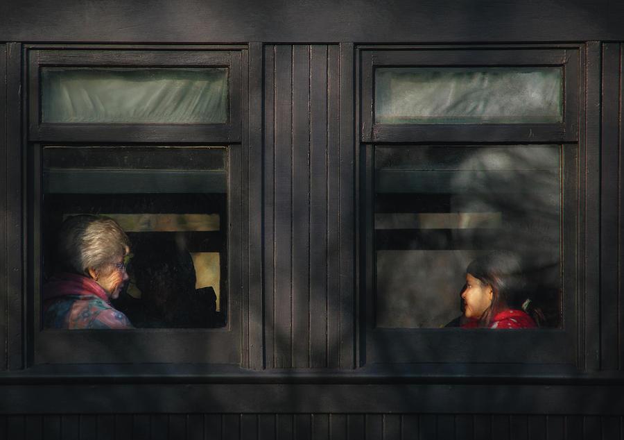 Savad Photograph - Children - Generations by Mike Savad