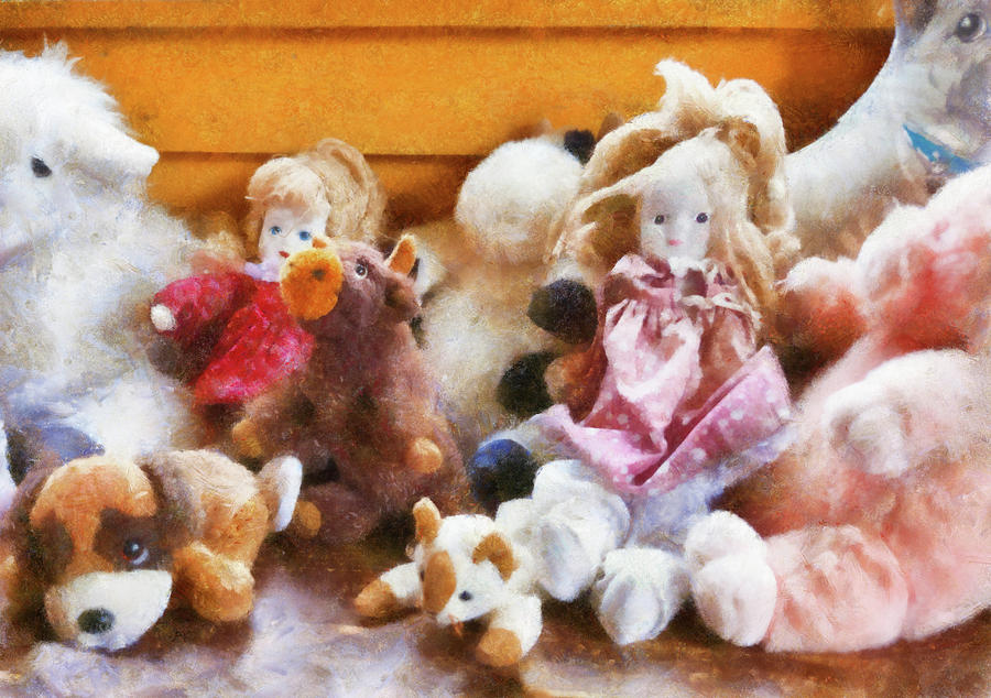 Children Photograph - Children - Toys - Childhood Toys  by Mike Savad