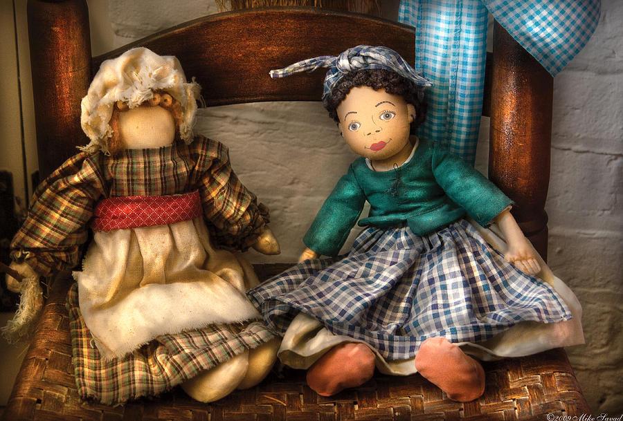 Savad Photograph - Children - Toys -  Dolls Americana  by Mike Savad