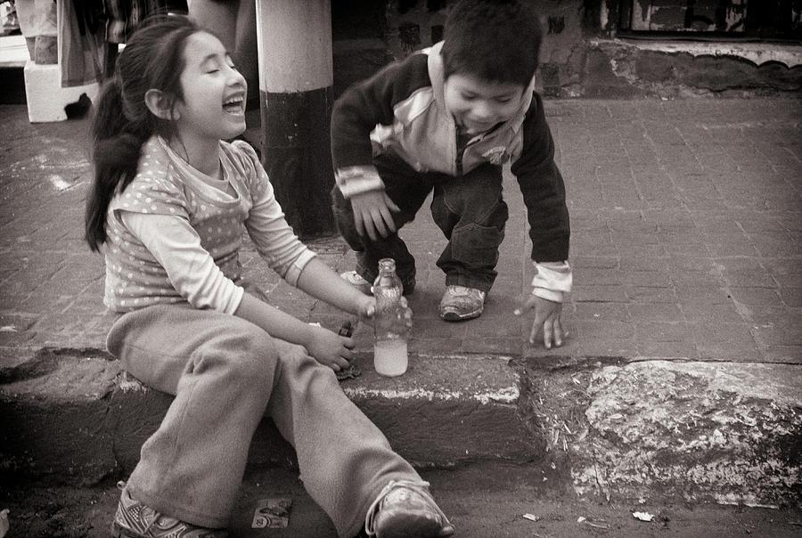 Amusement Photograph - Children by Tarek Charara