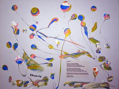 Childs Play Painting by Brenda Basham Dothage