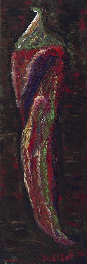 Chile Painting - Chile Pepper by Davis Elliott