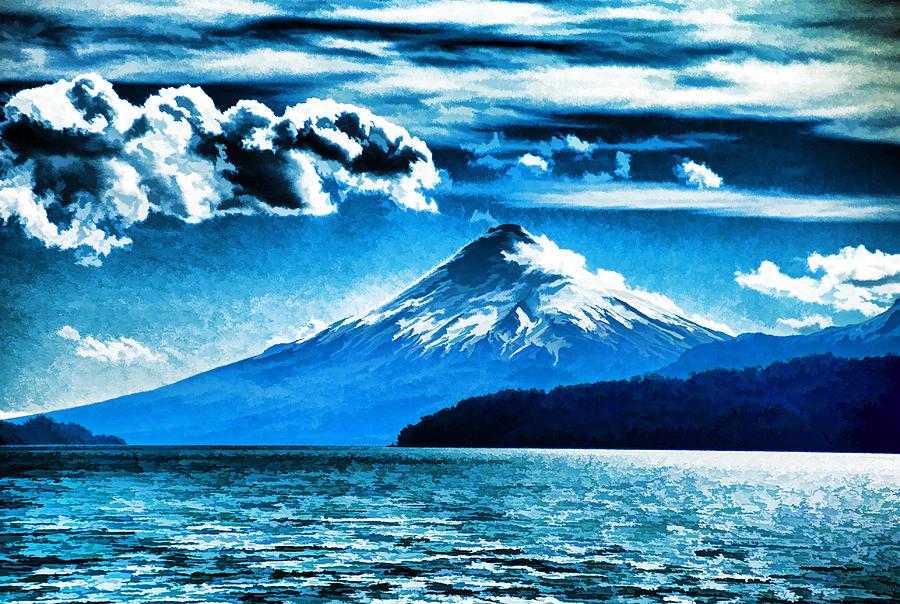 Orsono Photograph - Chilean Volcano by Dennis Cox