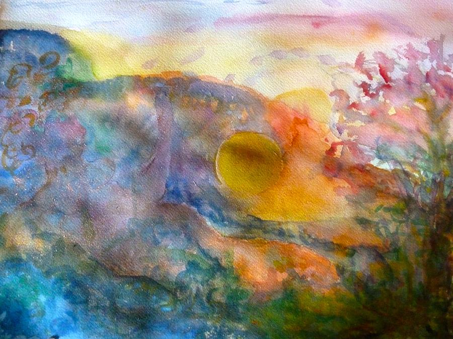 Watercolor Painting - Union by Phoenix Simpson