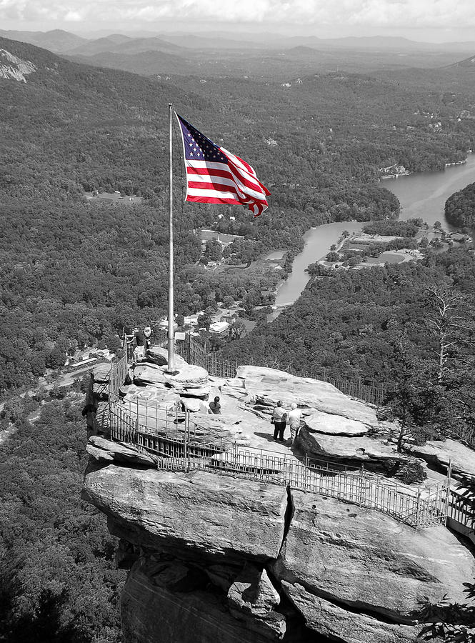 Chimney Photograph - Chimney Rock by Mandy Wiltzius