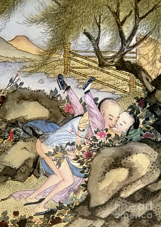 Watercolors paintings Chinese erotic