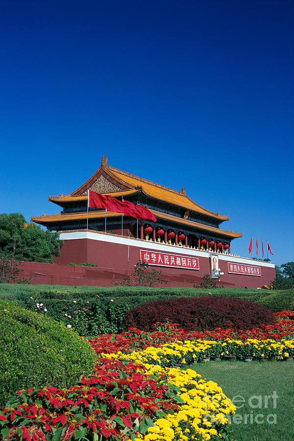 Architecture Photograph - China, Beijing by Gloria & Richard Maschmeyer - Printscapes
