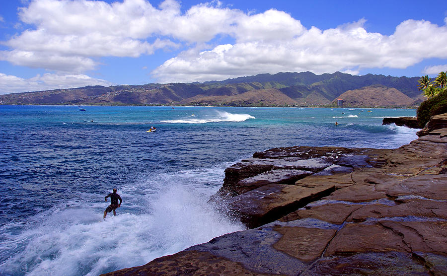 Hawaii Photograph - China Walls by Kevin Smith