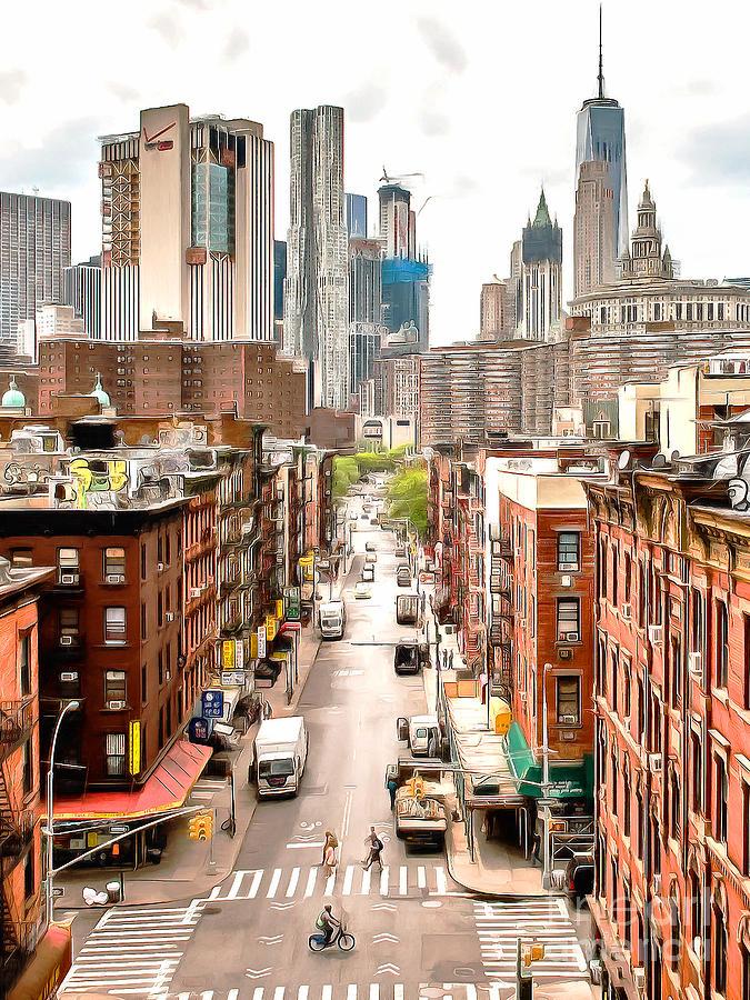 Chinatown Lower Manhatten New York City 20170917 V2
