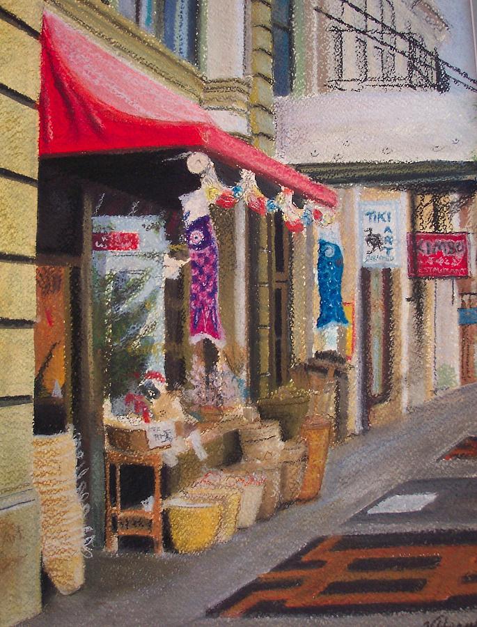 Chinatown Painting - Chinatown by Victoria Heryet