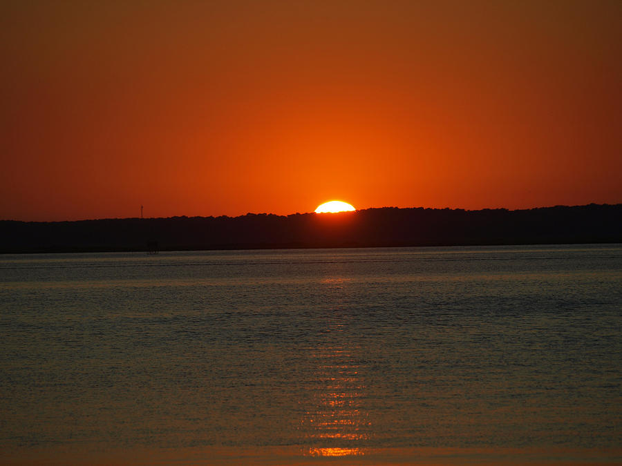 Sunset Photograph - Chincoteage Channel by Kim