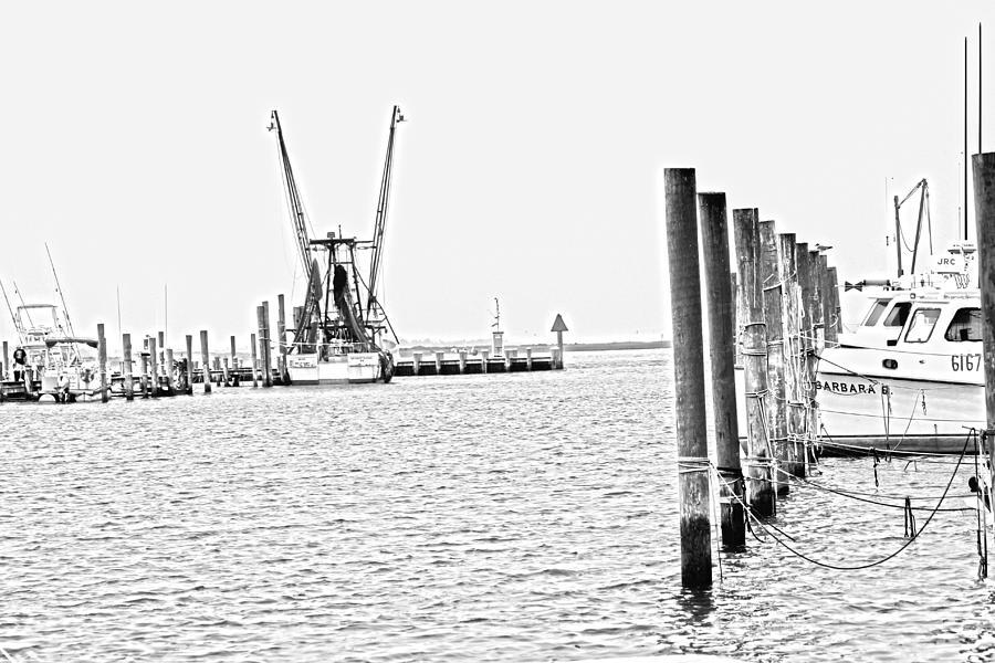 Assateague Photograph - Chincoteague Harbor 1 by JB Stran