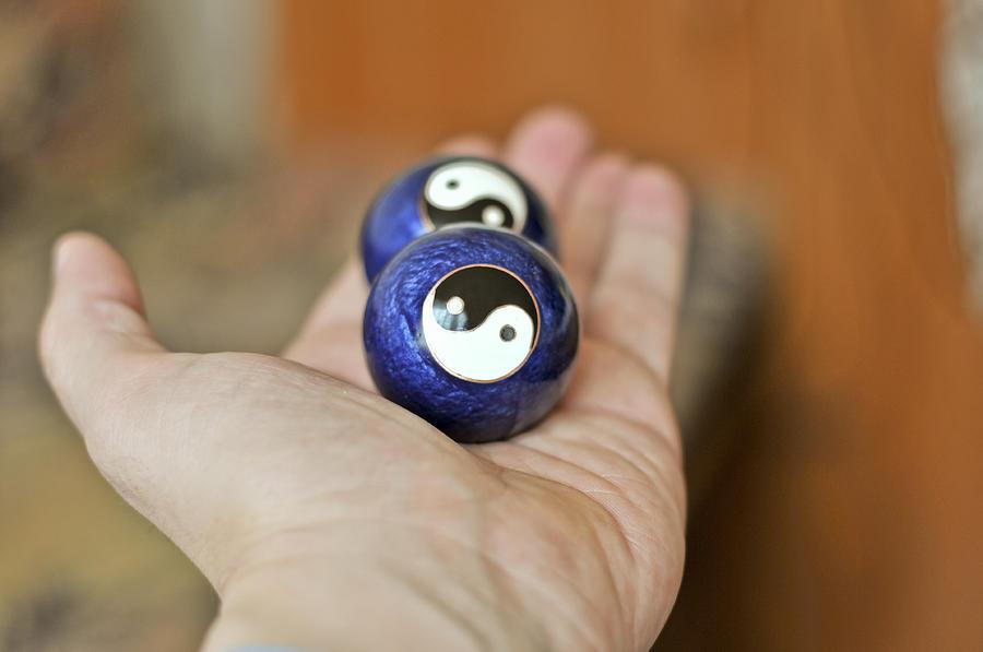 Chineese Stress Balls Photograph by Boyan Dimitrov