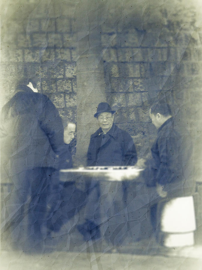 Photo Photograph - Chinese Chess Players by Loriental Photography
