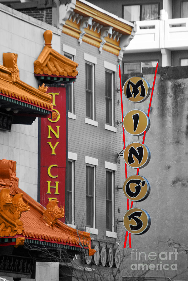 Chinatown Photograph - Chinese Food by Jost Houk
