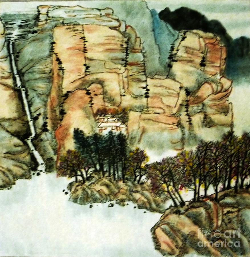 Chinese Landscape #1 by Betty M M Wong