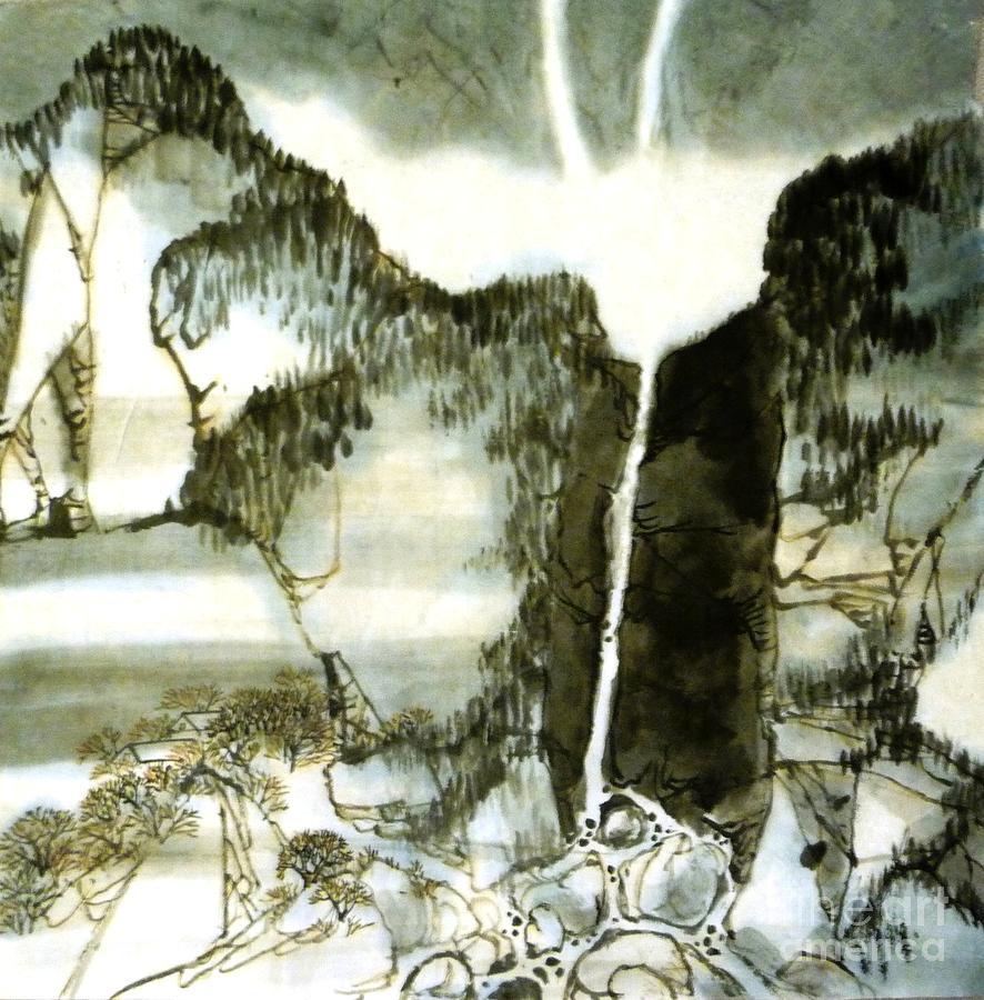 Chinese landscape #2 by Betty M M Wong