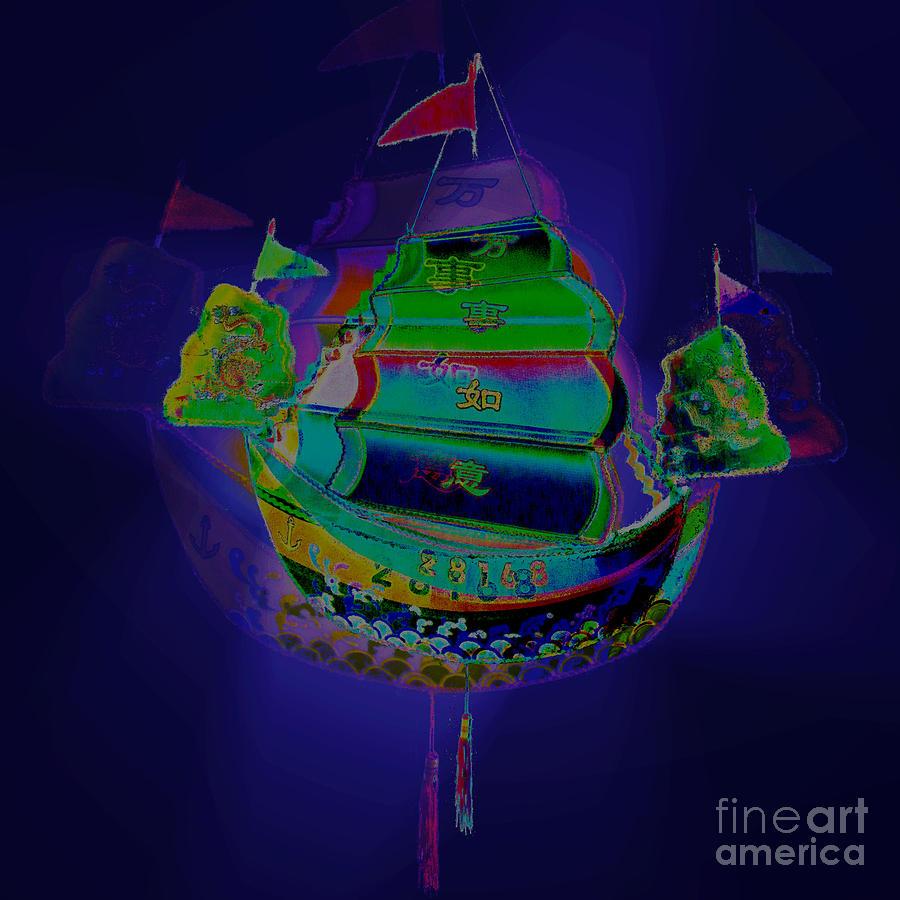 Chinese ship lantern mid autumn festival greeting card photograph by hong kong photograph chinese ship lantern mid autumn festival greeting card by kathy daxon kristyandbryce Choice Image