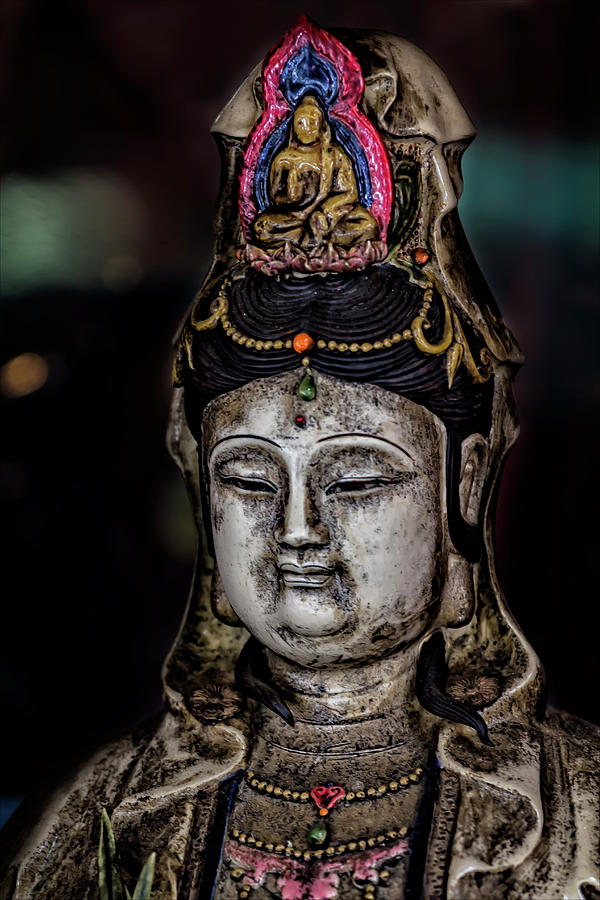 Statuette Photograph - Chinese Statuette  by Robert Ullmann