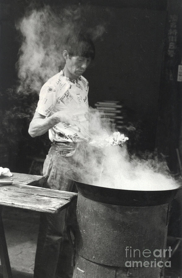 China Photograph - Chinese Steam by Andrea Simon