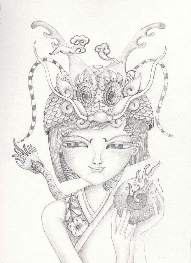 Chinese Zodiac - Dragon by Yifang Gonzalez