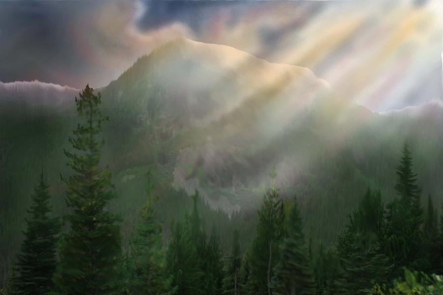 Chinook Vista Digital Art by Robert Bewick
