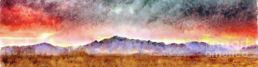 Landscape Digital Art - Chiricahua by Harry Ridgway