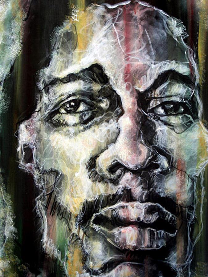 Reggae Painting - Chiseled by Robert  Nelson