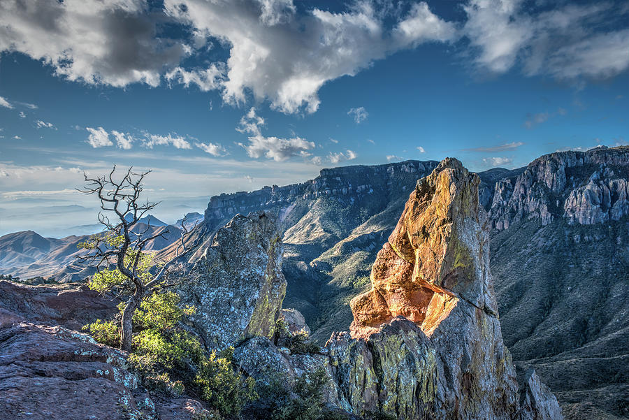 Chisos Mountains by George Buxbaum