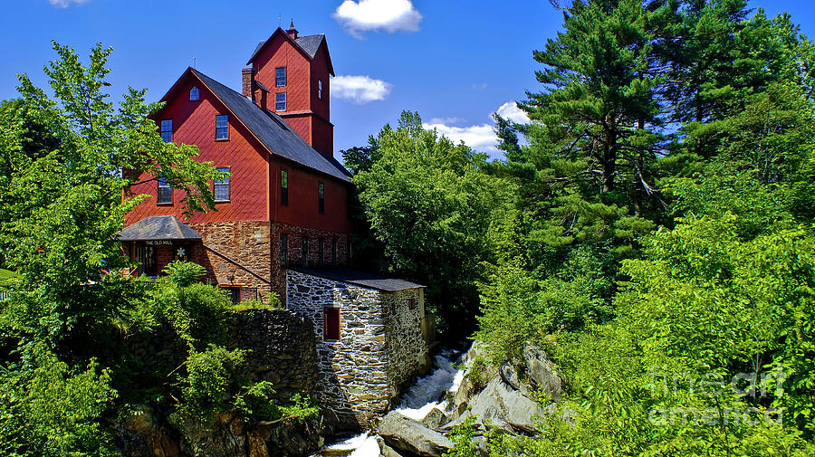 Chittenden Mills by Scenic Vermont Photography