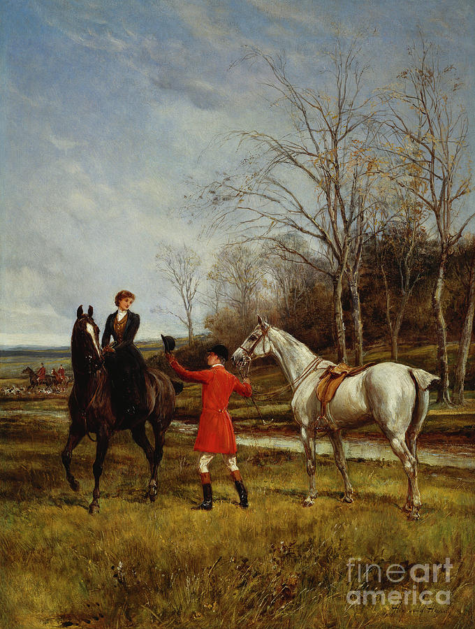 Chivalry Painting - Chivalry by Heywood Hardy