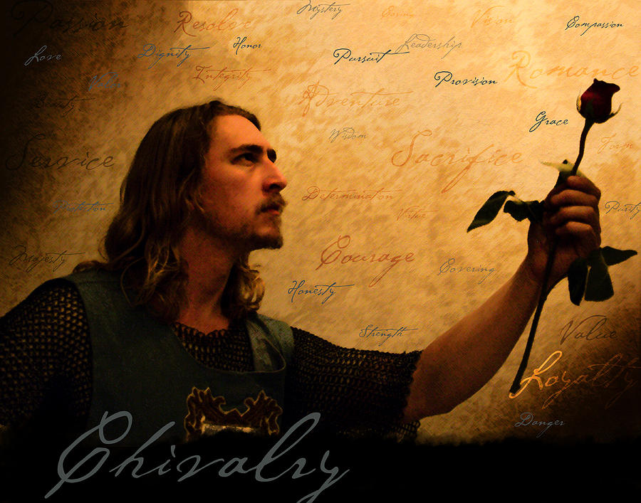 Chivalry Painting - Chivalry Reborn by Christopher Gaston