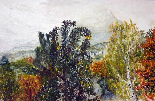 Landscape Painting - Chmelak by Pablo de Choros